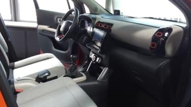 Citroen C3 Aircross front seats