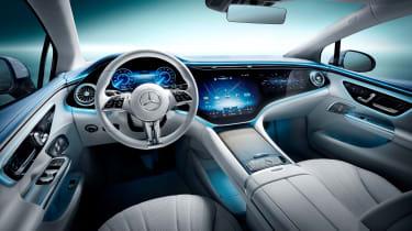 Mercedes EQE - dash