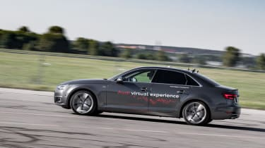 Audi Virtual Training Car side