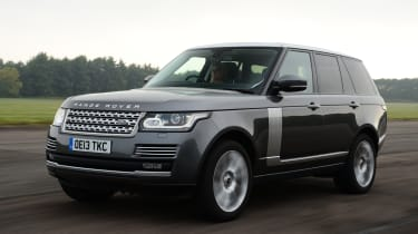 Range Rover SDV6 Vogue front action