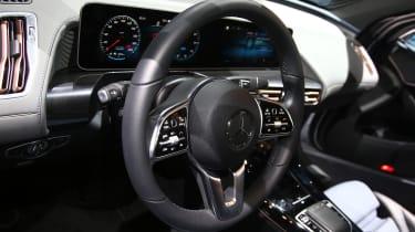 New Mercedes GLE steering wheel
