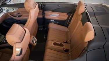 Mercedes E-Class Cabriolet - seats