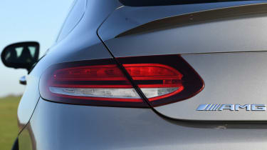 mercedes-amg c 43 coupe rear light