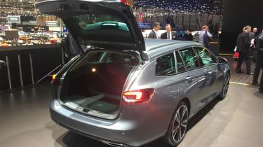 Vauxhall Insignia Sports Tourer Geneva - boot open