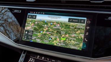 Audi SQ7 - sat-nav
