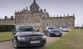 Audi A8 vs rivals