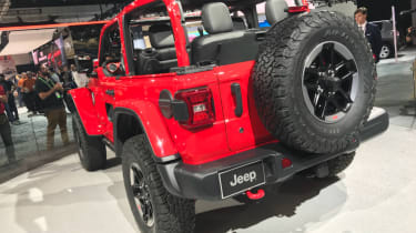 2018 Jeep Wrangler new - rear left