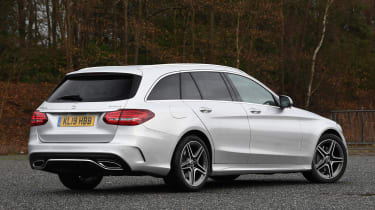Mercedes C-Class Estate - rear static