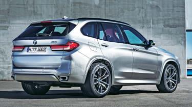 2018 BMW X5 - rear (exclusive image)