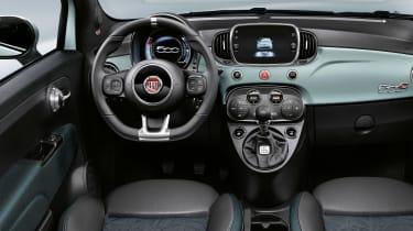 Fiat 500 hybrid - interior