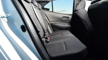 Toyota Corolla - rear seats