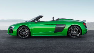 Audi R8 V10 Plus Spyder side