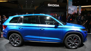 Skoda Kodiaq vRS - Paris side
