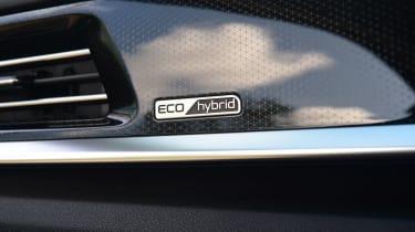New Kia Niro Hybrid - interior detail
