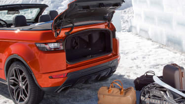 Range Rover Evoque Convertible boot