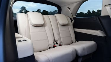 Mercedes GLS - back seats