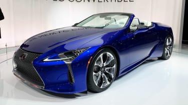 Lexus LC 500 Convertible - Los Angeles front