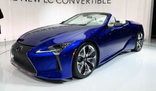 Lexus LC 500 Convertible - Los Angeles front