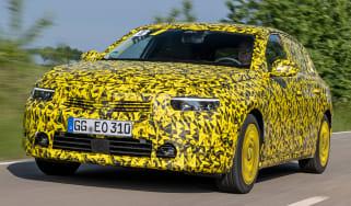Vauxhall Astra prototype - front