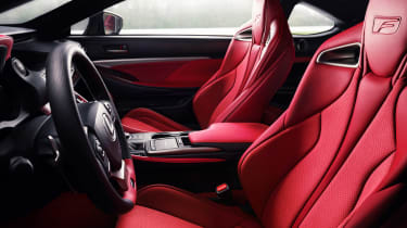 Lexus RC F Track Edition - front seats