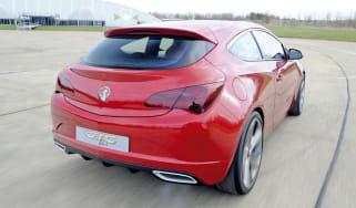Vauxhall Astra GTC cornering