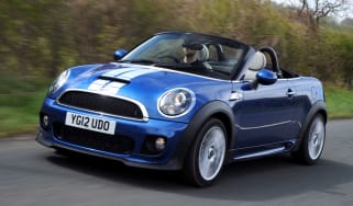MINI Cooper SD Roadster front tracking