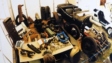 70 Years of British Car Auctions - Bentley in bits