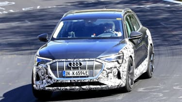 Audi e-tron S - spyshot 1