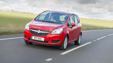 Vauxhall Meriva 2014 facelift - tracking