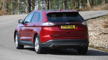 Ford Edge second report - rear cornering