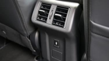 New 2019 Mitsubishi Outlander PHEV rear air vents