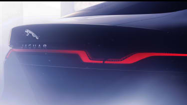 Jaguar XJ electric teaser