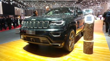 Jeep 75th Anniversary Geneva - SRT front three quarter