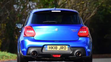Suzuki swift sport ctc rear