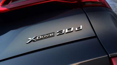 BMW X5 badge