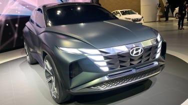 Hyundai Vision T - LA Motor Show side/front