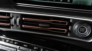 Mercedes EQC - vents