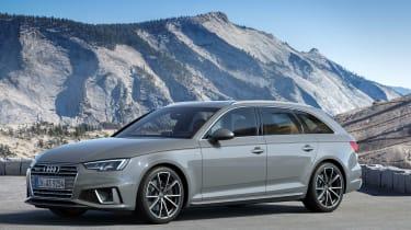 Audi A4 Avant facelift - front