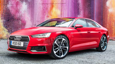 Audi A3 Coupe - front (watermarked)