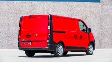Nissan NV300 van rear static