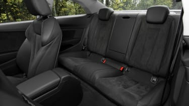 Audi A5 Coupe 2.0 TDI - rear seats