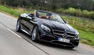 Mercedes-AMG S 63 Cabriolet 2016 - front tracking 2