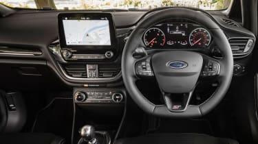 Ford Fiesta ST Performance - dash