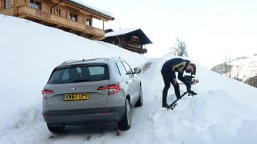 Skoda Karoq road trip - shooting