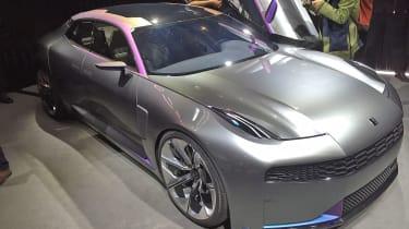 LYNK & CO sports car concept front door