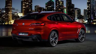 BMW X4 - rear static night