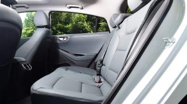hyundai Ioniq electric - rear seats
