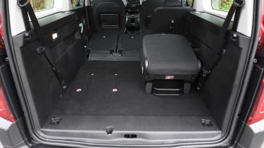 Citroen Berlingo XL Flair long termer - boot