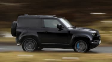 Land Rover Defender 90 V8 - side