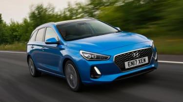 Hyundai i30 Tourer - front tracking